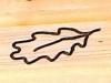 Leaf engraving