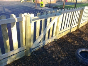 Heavy duty gate