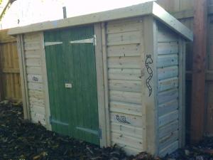Wildlife area storage unit